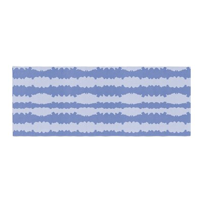 Mydeas Nautical Breeze - Ocean Ripple Bed Runner