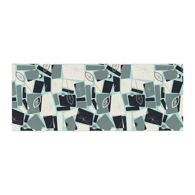 Allison Beilke Vacation Days Chess Bed Runner