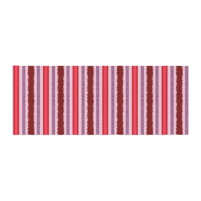 Mydeas Scribbled Candy Stripes Vector Bed Runner