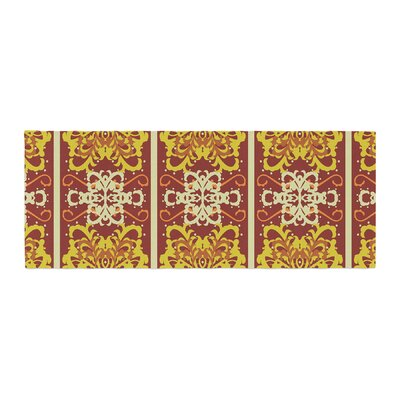 Mydeas Butterfly Dog Damask Bed Runner