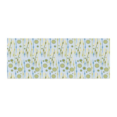 Mydeas Dot Whimsy Pattern Vector Bed Runner