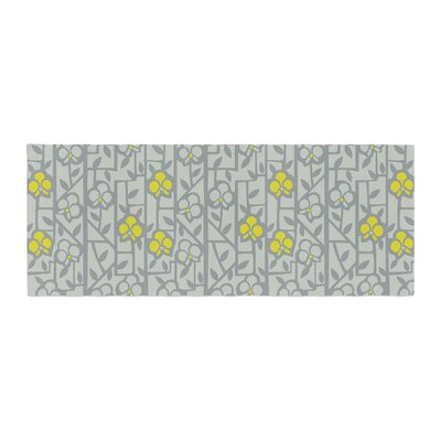 Allison Beilke Deco Orchids Bed Runner