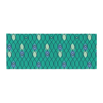 Allison Beilke Suncoast Emerald Bed Runner