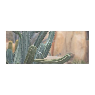 Ann Barnes Cactus Jungle II Photography Bed Runner