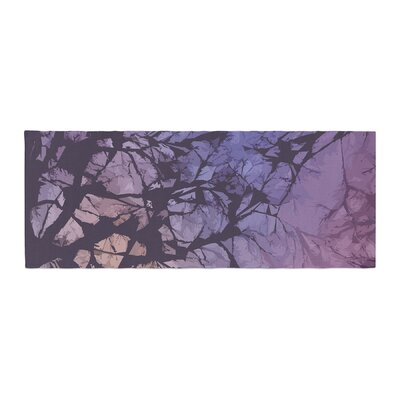 Alison Coxon Violet Skies Bed Runner