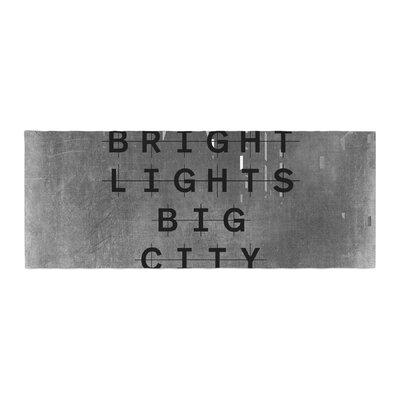Alison Coxon Bright Lights City Bed Runner