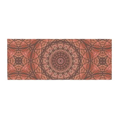 Alison Coxon Autumn Mandala Digital Bed Runner