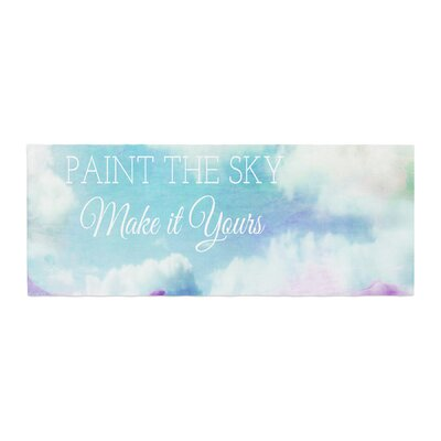 Alison Coxon Paint the Sky! Bed Runner