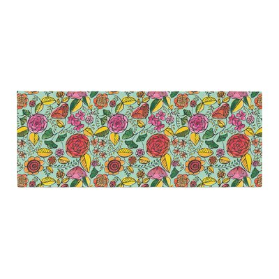 Allison Beilke Garden Variety Flowers Bed Runner