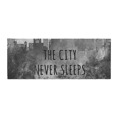 Alison Coxon The City Never Sleeps Bed Runner