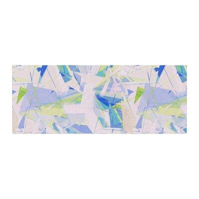 Alison Coxon Shatter Bed Runner Color: Blue