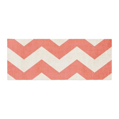 Ann Barnes Vintage Chevron Bed Runner