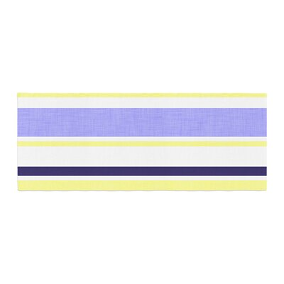 Alison Coxon Jack Tar Bed Runner Color: Purple/Yellow