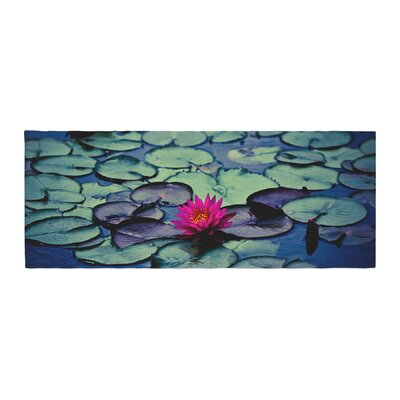 Ann Barnes Twilight Water Lily Bed Runner