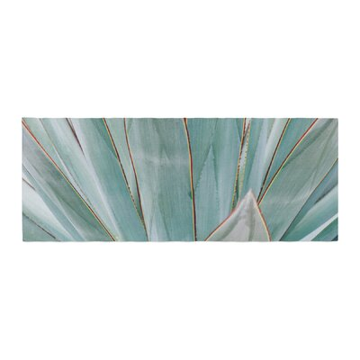 Ann Barnes Agave Abstract Photography Bed Runner