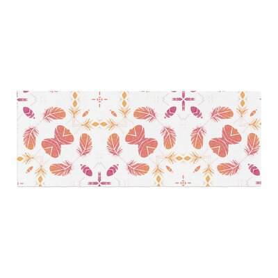 Alison Coxon Aztec Feather Repeat Digital Bed Runner