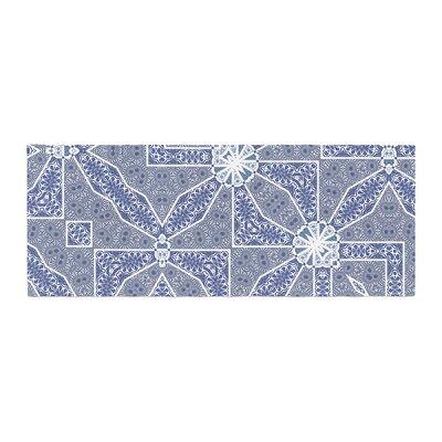 Alison Coxon Santorini Tile Digital Bed Runner