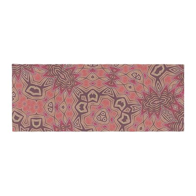 Alison Coxon Tribal Fire Digital Bed Runner