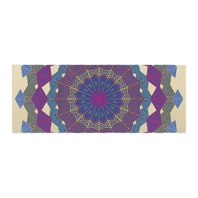 Angelo Cerantola Composition Bed Runner Color: Purple