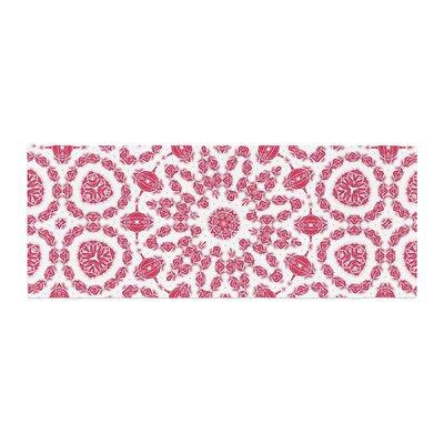 Alison Coxon Ruby Mandala Digital Bed Runner