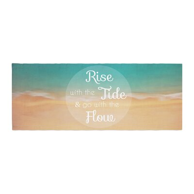 Alison Coxon Rise With the Tide Bed Runner