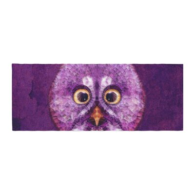 Ancello Hoot! Owl Bed Runner