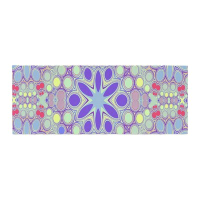 Alison Coxon Hippy Flowers Kaleidoscope Bed Runner