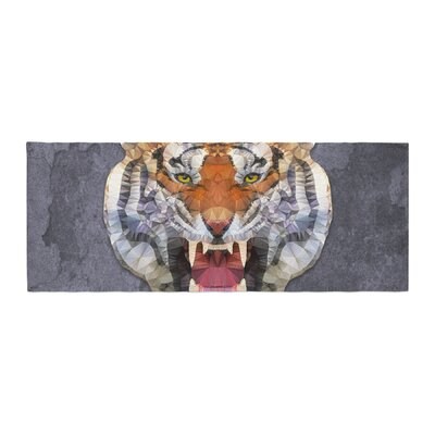 Ancello Abstract Tiger Bed Runner