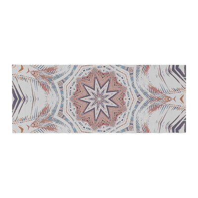 Alison Coxon Boho Dream Bed Runner Color: Tan