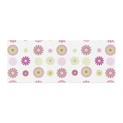 Afe Images Floral Pattern Digital Bed Runner