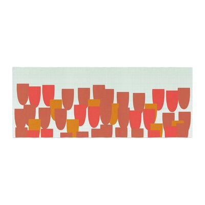 Pellerina Design Sunrise Poppies Bed Runner