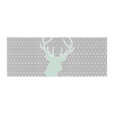 Pellerina Design Winter Deer Bed Runner