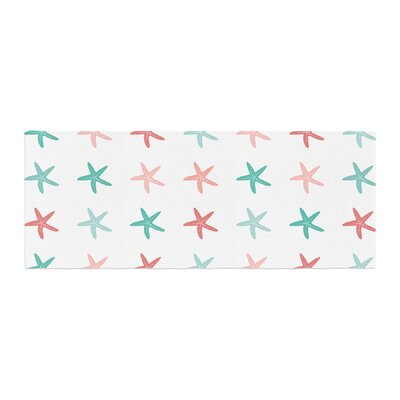 Afe Images Starfish Pattern II Illustration Bed Runner