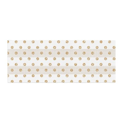 Pellerina Design Linen Polka Stripes Dots Bed Runner