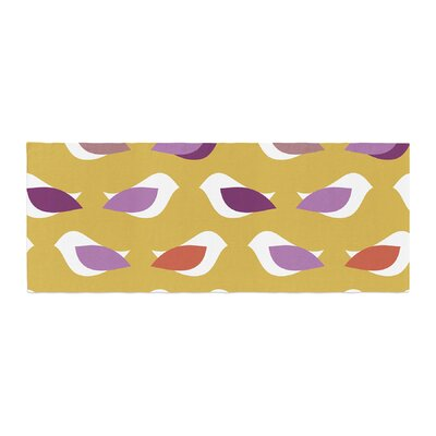 Pellerina Design Orchid Birds Bed Runner