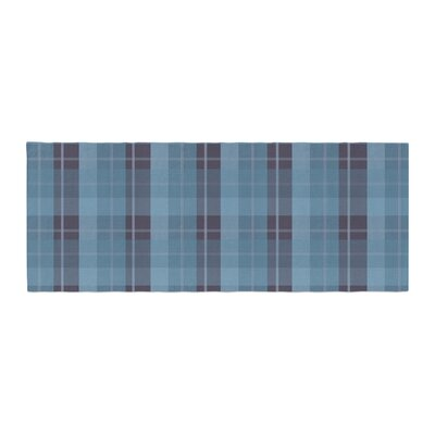 Afe Images Plaid Pattern II Illustration Bed Runner