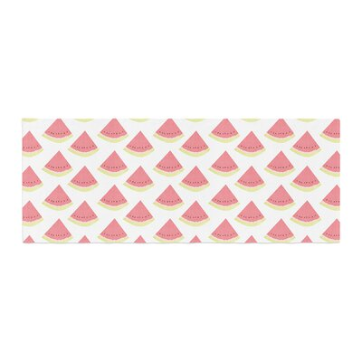 Afe Images Watermelon Pattern 2 Illustration Bed Runner