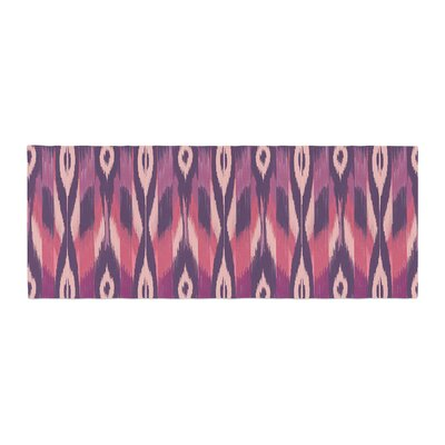 Amanda Lane Ikat Bed Runner