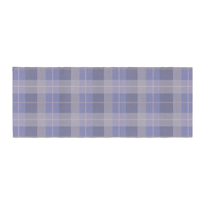 Afe Images Plaid Pattern Illustration Bed Runner