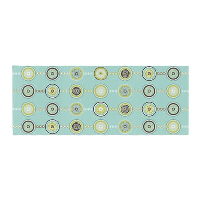 Afe Images Circle Pattern Illustration Bed Runner