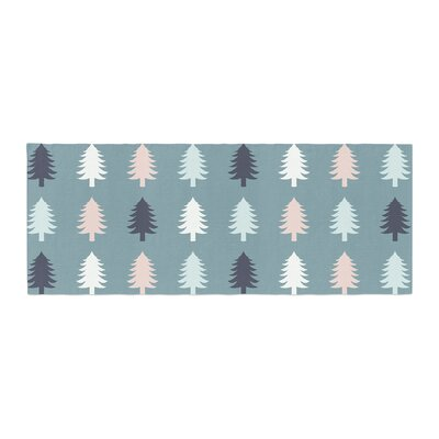 Afe Images Christmas Tree Silhouettes Digital Bed Runner