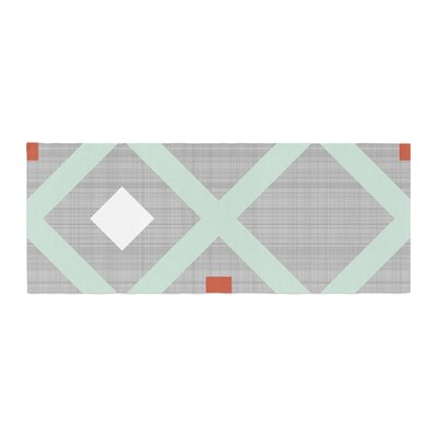 Pellerina Design Lattice Weave Bed Runner