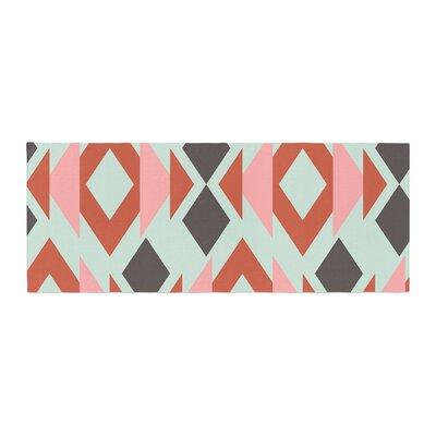 Pellerina Design Triangle Weave Bed Runner