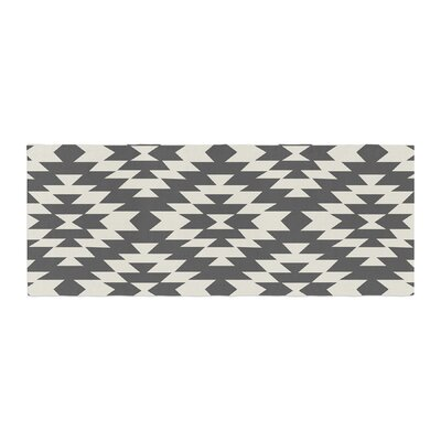 Amanda Lane Southwestern Tribal Geometric Bed Runner