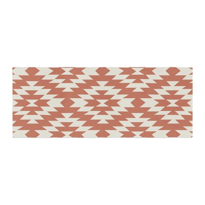 Amanda Lane Southwestern Toasted Tribal Bed Runner