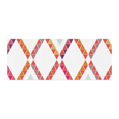 Pellerina Design Aztec Diamonds Geometric Bed Runner