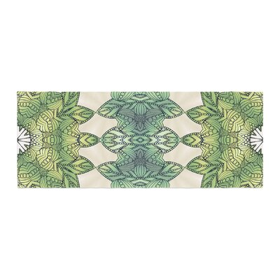 Art Love Passion Forest Leaves Celtic Abstract Bed Runner