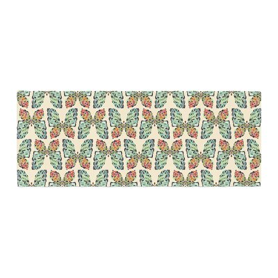 Art Love Passion Little Butterflies Bed Runner