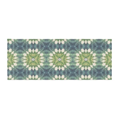 Art Love Passion Forest Leaves Pattern Geometric Bed Runner