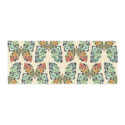 Art Love Passion Butterfly Pattern Bed Runner